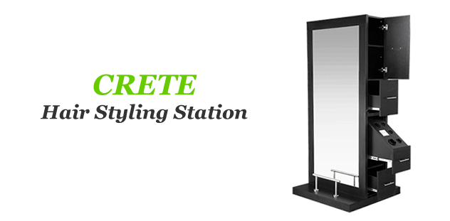 Crete Salon Station, Styling Station, Barber Stations Hair Station for Sale