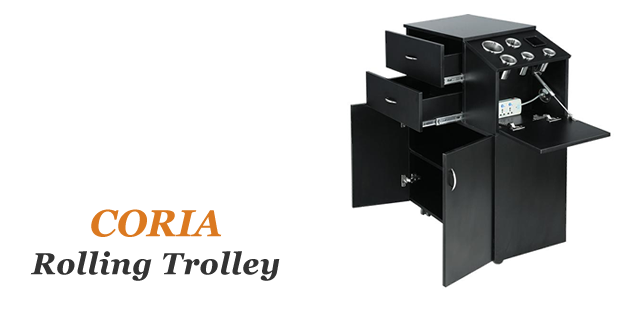 Coria Beauty Salon Carts, Beauty Salon Trolleys, Beauty Salon Equipment wholesale