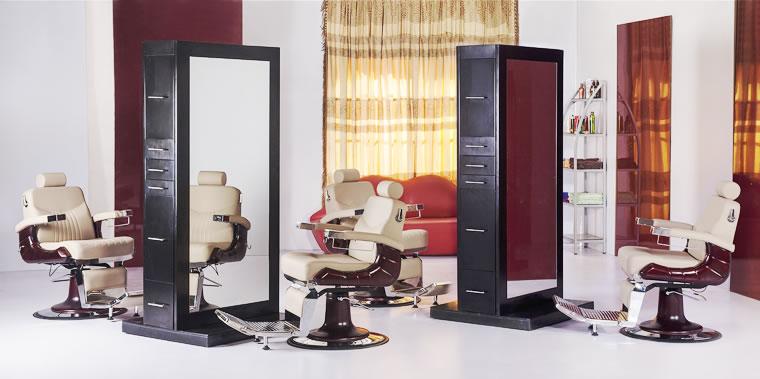 Salon Stations, Cabinets