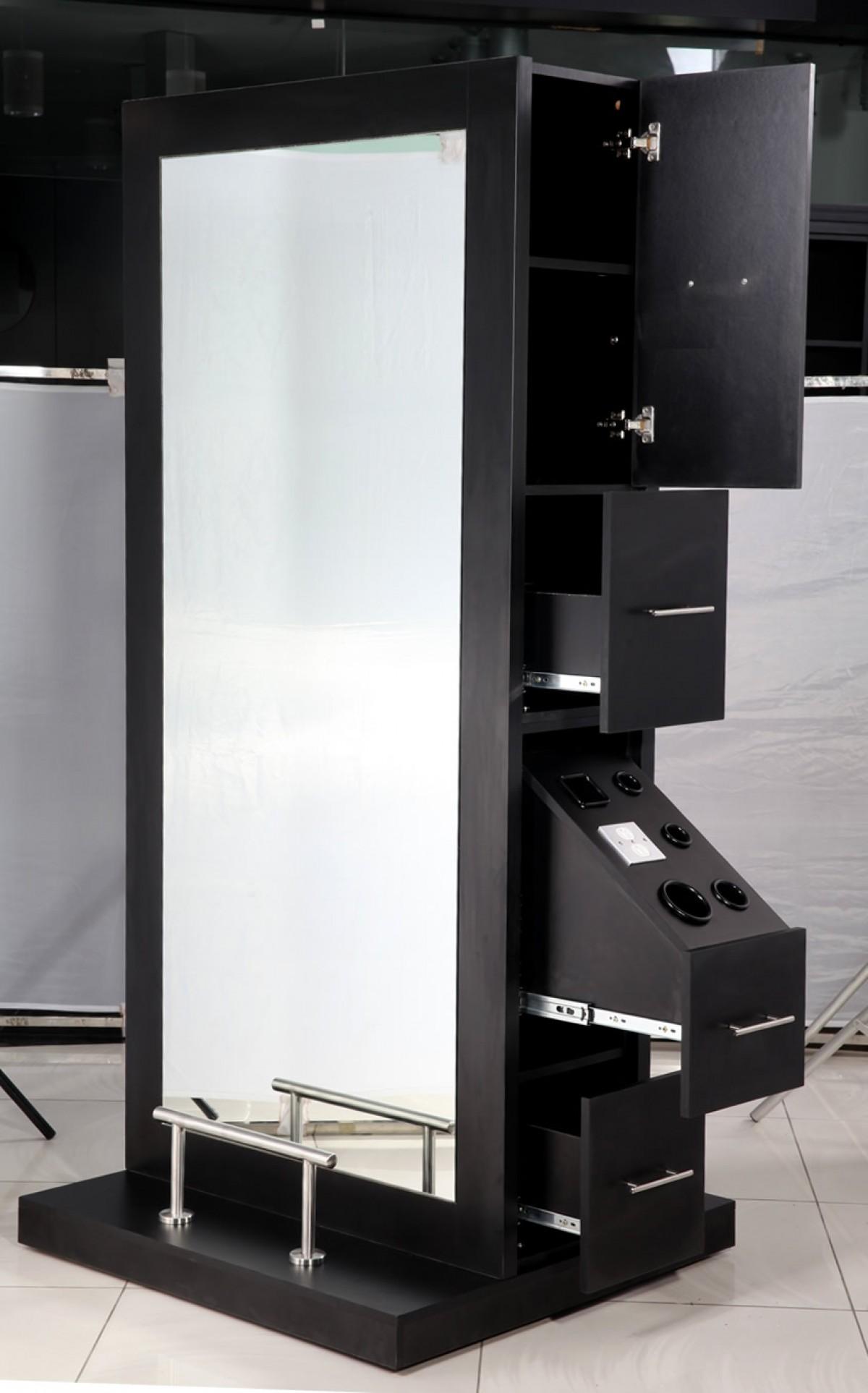 Crete double sided salon station - Salon equipment international ...