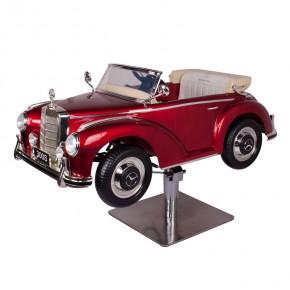 """Mercedes classic car"" Child salon chair in red"