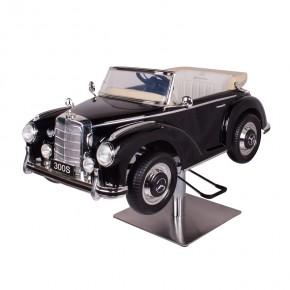 """Mercedes classic car"" Child salon chair in black"
