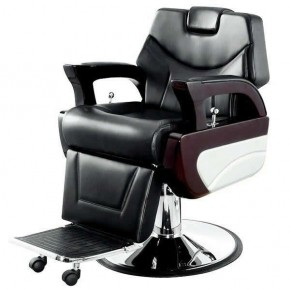 """AUGUSTO"" Salon Barber Chair with Heavy Duty Hydraulic Pump"