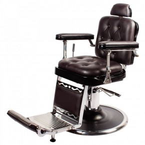 """REGENT"" Barber Shop Chair in Soft Chocolate"