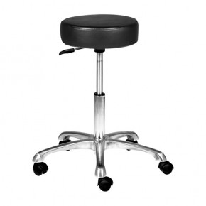 """AMY"" Hair Salon Stool with Cast Alloy Base"
