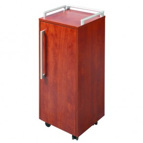 """NAVIO"" Salon Trolley - Cherry Colour"