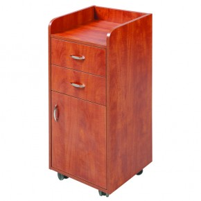 """OLICANA"" Salon Trolley - Cherry Colour"