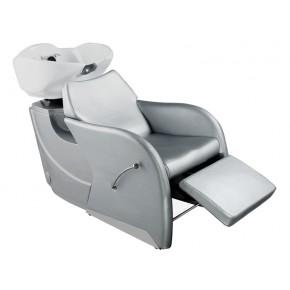 """""""ODESSA"""" Shampoo Backwash Unit in Silver"""