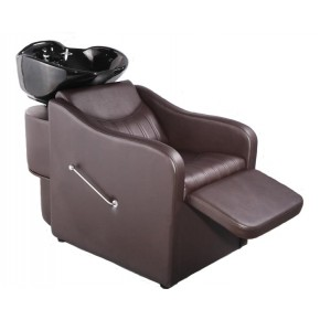 """TAPER"" Shampoo Bowl Backwash Unit in Soft Chocolate"