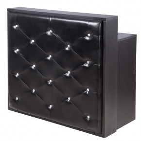 """DELAMERE"" Salon Reception Desk (Black)"