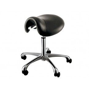 """HERMES"" Saddle Salon Stool"