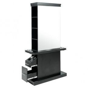 """MALTA"" Double Sided Salon Station - Black"
