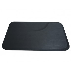 Square Salon Floor Mat for Round Base