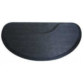 Semi-Circle Salon Floor Mat for Round Base