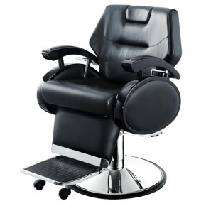 """TRAJAN"" Salon Barber Chair with Heavy Duty Hydraulic Pump"