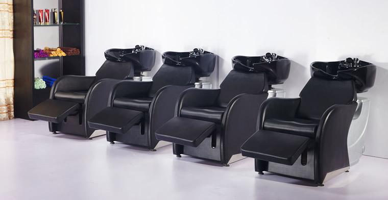 Shampoo Bowls, Chairs