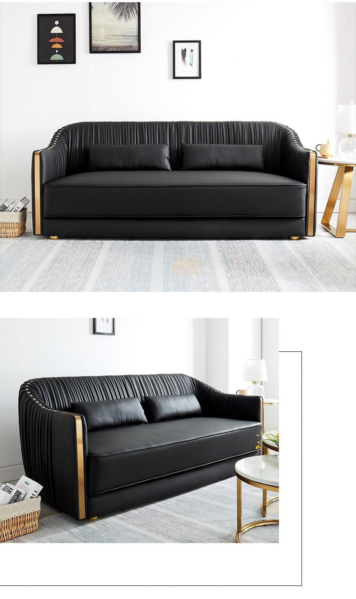 luxury living room modern sofa chesterfield nightclub ...