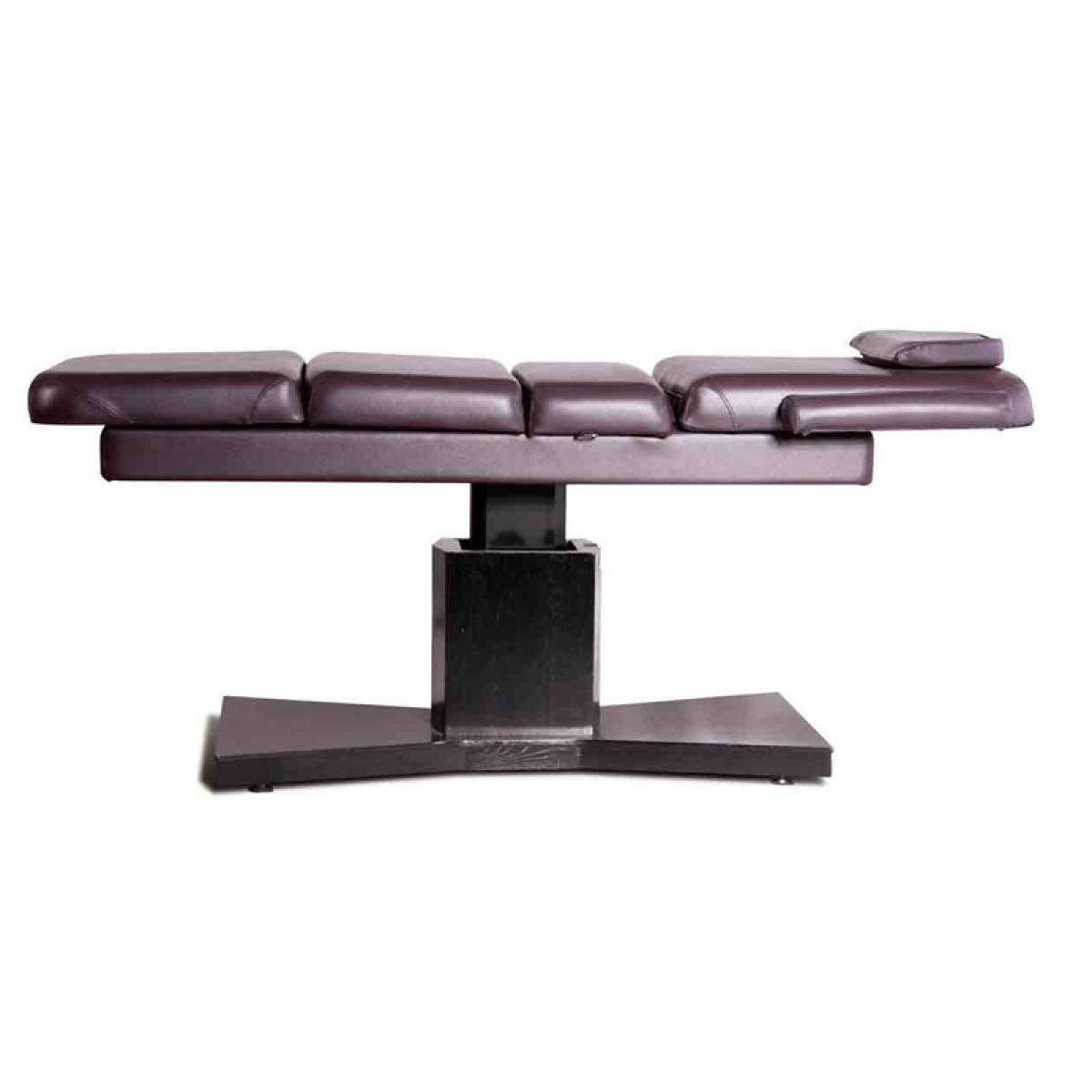 High quality stong spa couch wooden thai acupressure massage bed for beauty salon