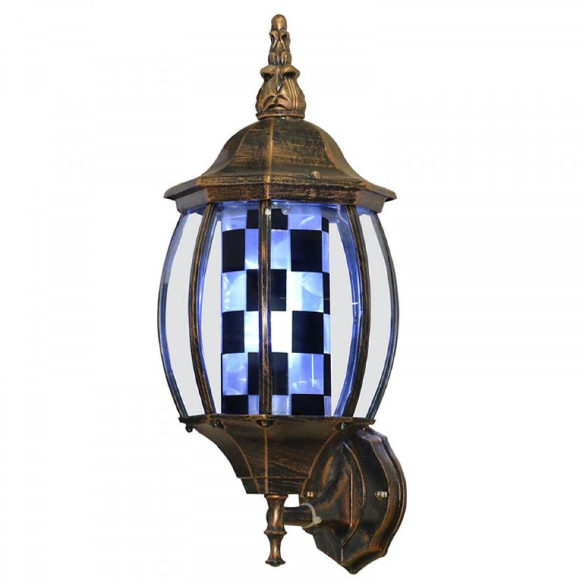 """BRONZE"" Rome LED Barber Pole Porch Light"