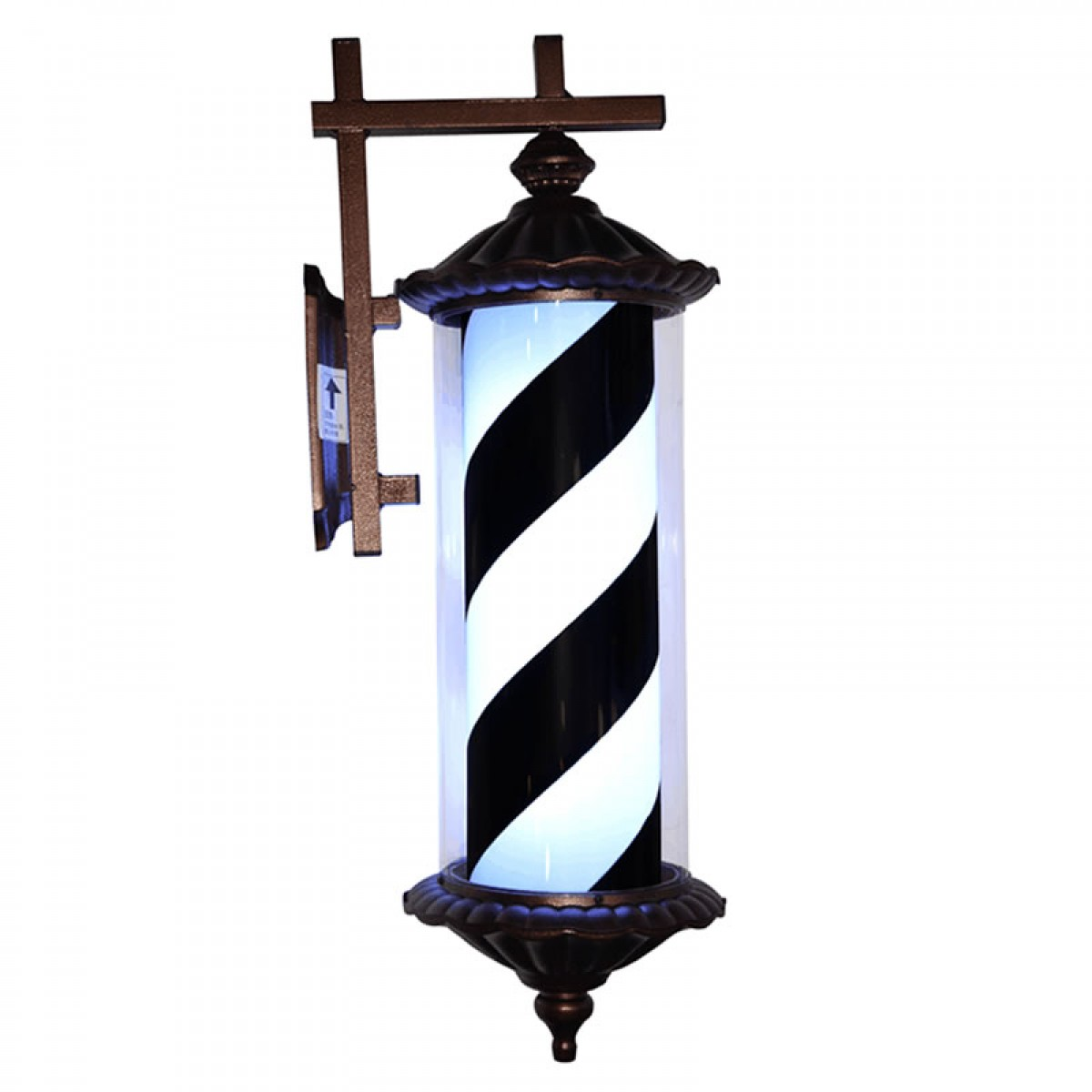 """ROME"" LED Barber Pole Porch Light"