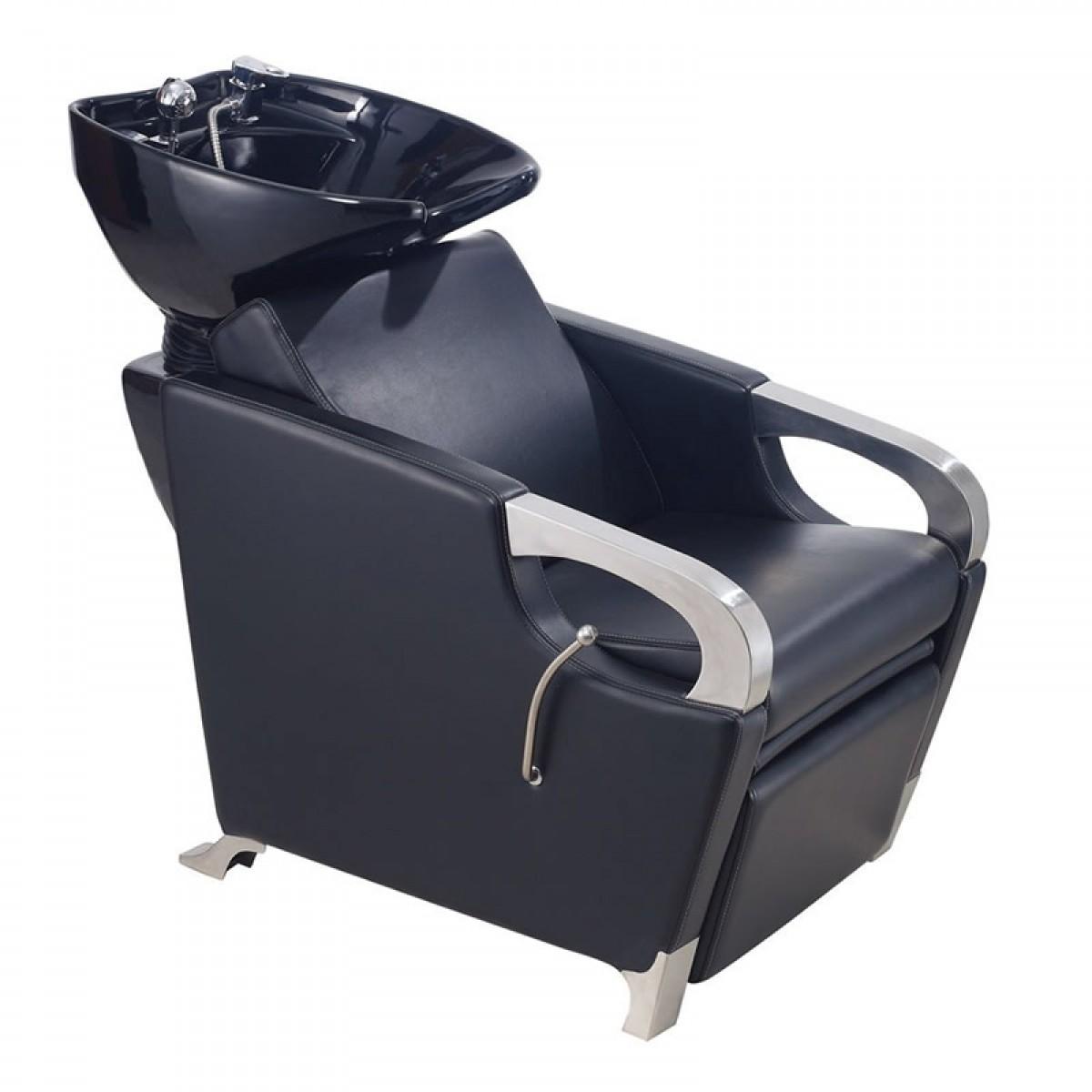 """ MIRAGE"" shampoo chair Backwash unit"