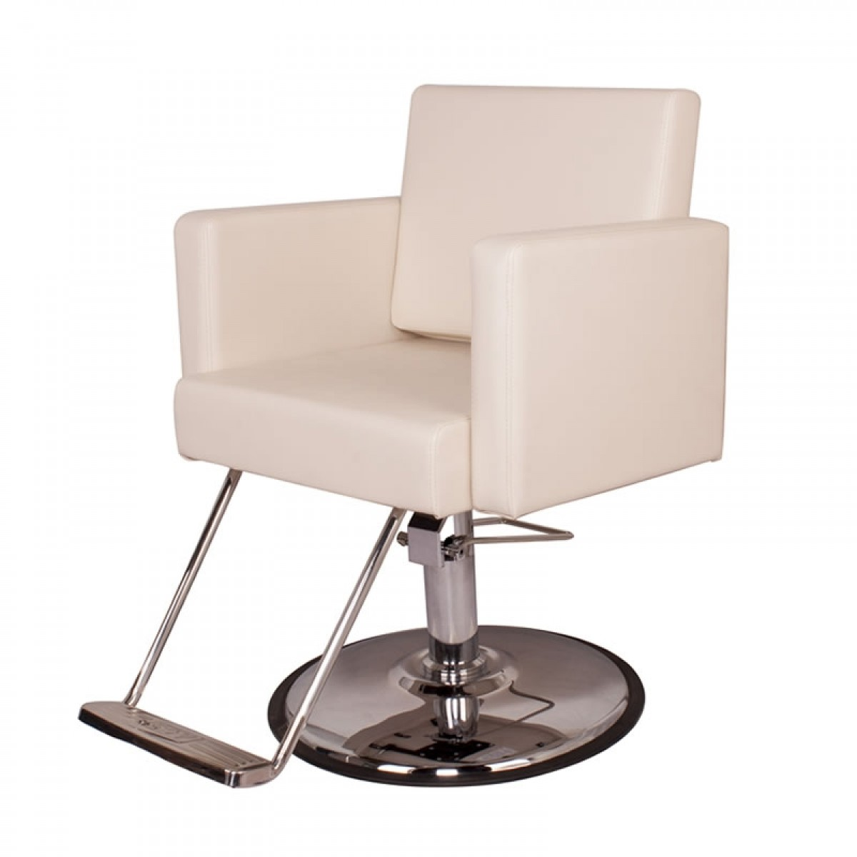 """CANON"" Salon Styling Chair in white"