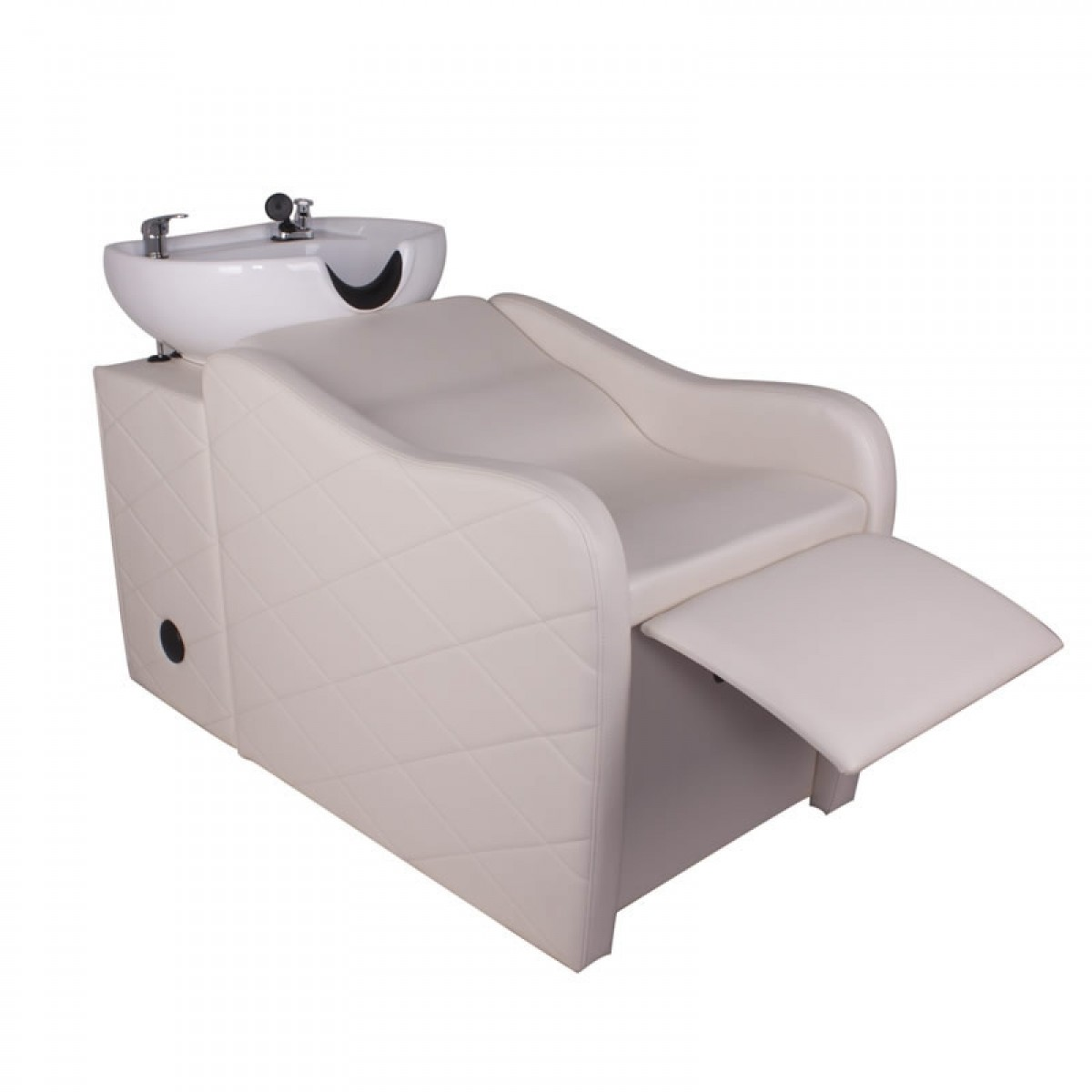 """GABRIELLE"" Shampoo Backwash Unit in white"