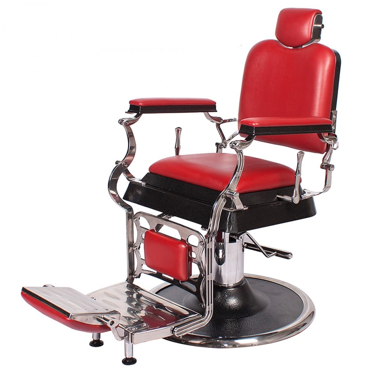 """EMPIRE"" Barber Chair in Cardinal Red"