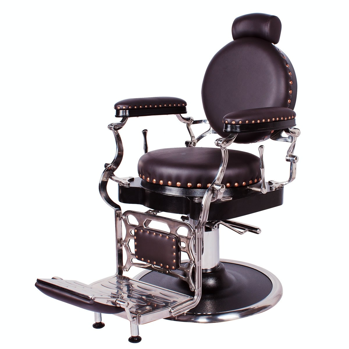 """ZENO"" Antique Barbering Chair, Vintage Barbering Furniture for Sale"