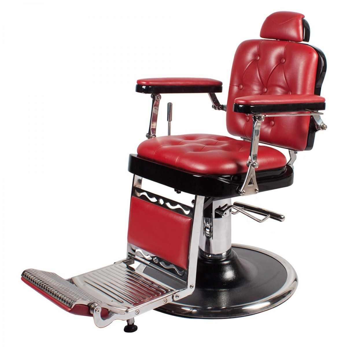 """REGENT"" Barber Shop Chair in Cardinal Red"