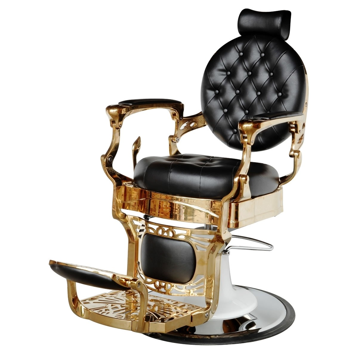 """THEODORE"" Golden Barber Chair (2 Colours)"