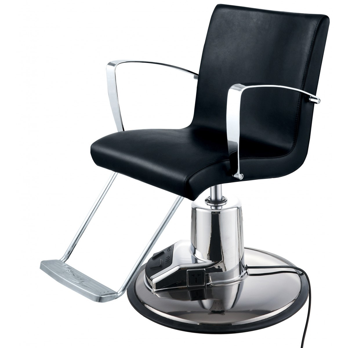 """SALLY"" Salon Styling Chair w/ Electric Round Base"