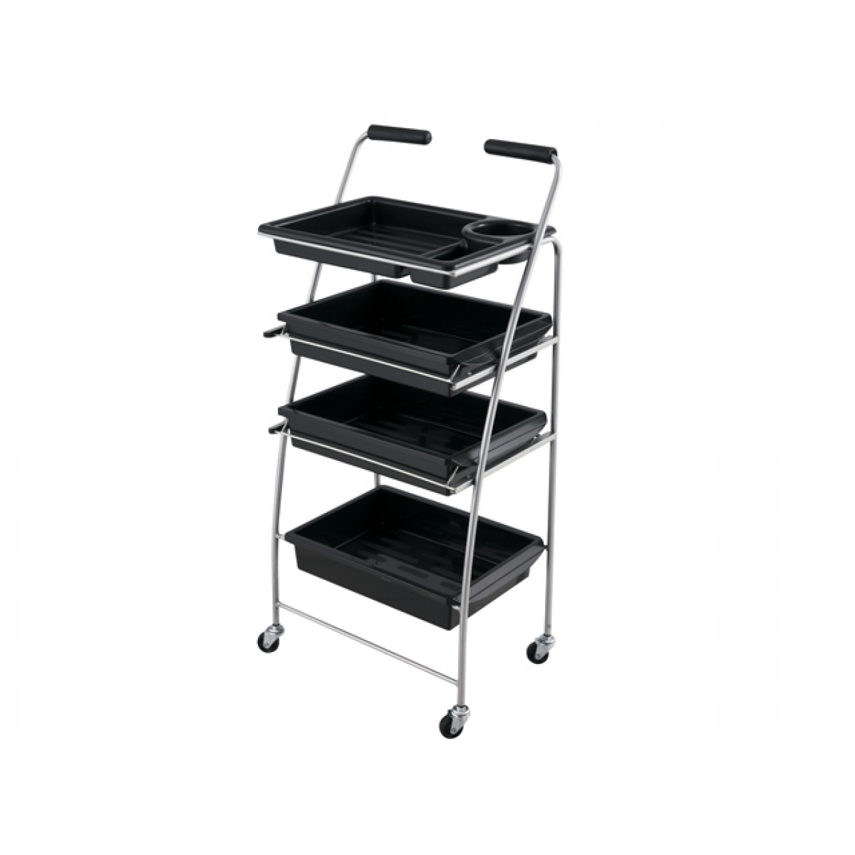"""BARU"" Multi-purpose Salon Utility Tray Cart"