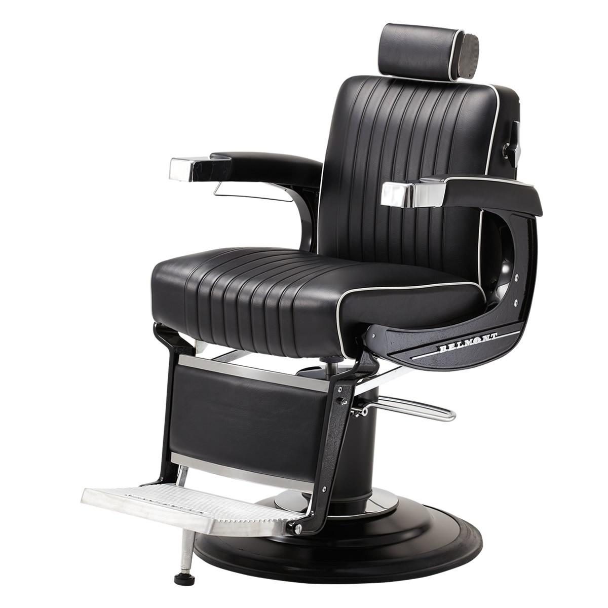 """ELITE BLACK"" Barber Chair by TAKARA BELMONT (Made in Japan)"