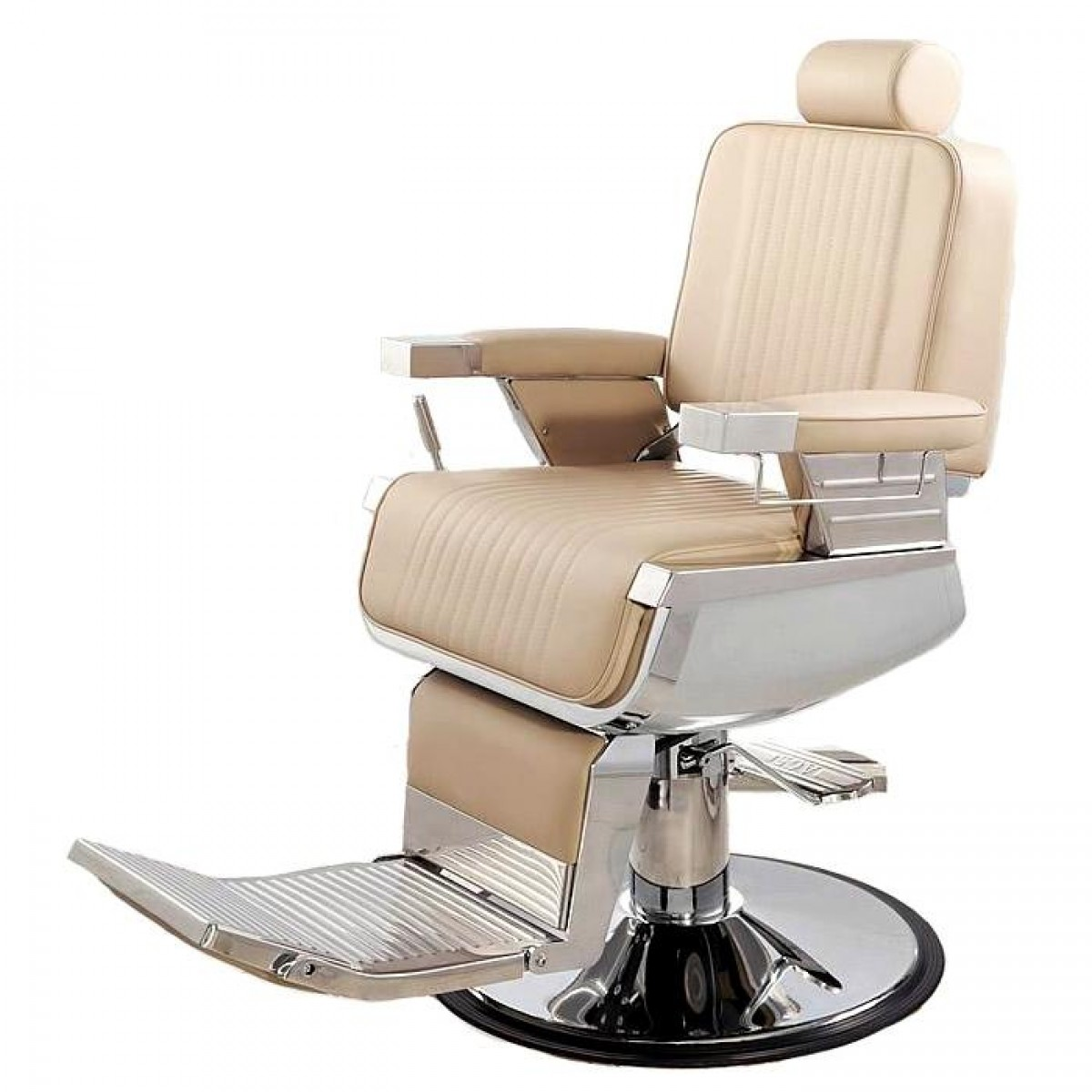 """CONTINENTAL"" Barber Chair in Khaki"