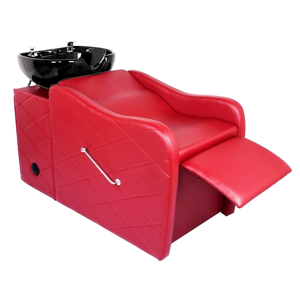 """GABRIELLE"" Shampoo Backwash Unit in Cardinal Red"