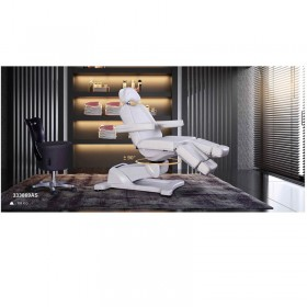 Retail beauty salon furniture easy operated electric facial bed for salon shop