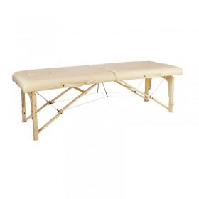 Big Discount Adult Size portable treament bed Wood Folding Massage Bed for salon shop