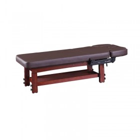 Salon Furniture Type and Genuine/Synthetic Leather Material best electric wood massage bed