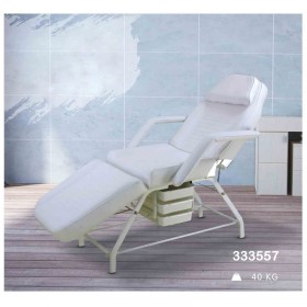 Profession Salon Factory Full body used White foam facial beauty bed with cabinet