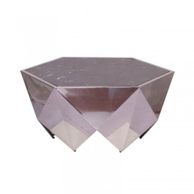 MONOLITH Coffee table diamond cut by MINOTTI
