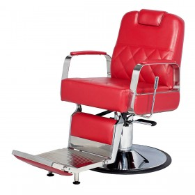 """DUKE"" Barber Chair with Heavy Duty Pump"