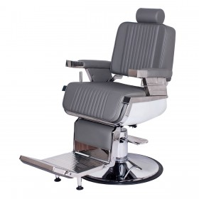 """""""CONTINENTAL"""" Barber Chair in Grey"""