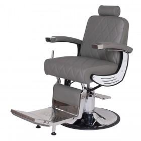 """BARON"" Heavy Duty Barber Chair in Grey"