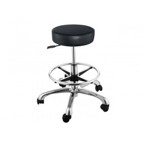 """""""AMY"""" Stool with Footrest Ring"""