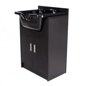 """""""Bahamas"""" Shampoo Cabinet - Matte Black"""