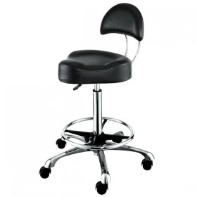 """AROHA"" Hair Salon Stool with Footrest Ring"
