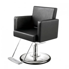"""CANON"" Salon Styling Chair in black"