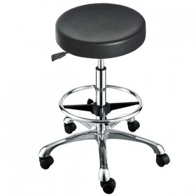 """""""ROCKY"""" Stool with Footrest Ring"""