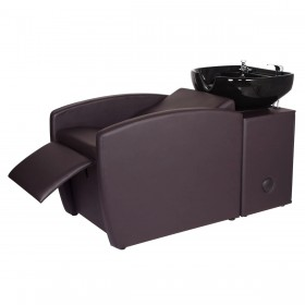 """RIO"" Shampoo Backwash Unit in Soft Chocolate"